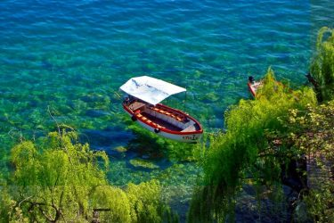 What Ohrid lacks in coastline, it makes up for in character and natural beauty. Its lake offers pockets of beachy areas that reveal views of the surrounding mountains and hills. Along the shoreline, carefully reconstructed stilted villages give the area an Italian vibe, while waterside resorts make it the perfect place to relax in the sun. For those tired of the beach, hikes that lead around the shoreline and into the mountains are especially tempting.
